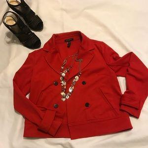 Banana Republic Red Jacket